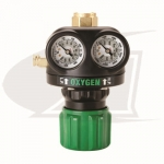 Heavy Duty Edge Series Single Stage Oxygen Regulator - CGA540