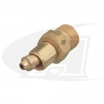 "Acetylene/Fuel Gas Coupler - ""A"" Size Female to ""B"" Size Male"