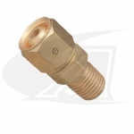"Acetylene/Fuel Gas Adapter - ""B"" Size Female to 1/4"" NPT Male"