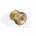 "1/4"" Female NPT Bushing For CGA Cylinder Fittings"