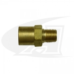 "Acetylene/Fuel Gas Coupler - ""A\"" Size Male to \""B\"" Size Female"