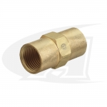 "Gas Coupler - 3/8""-24 Female-to-Female"