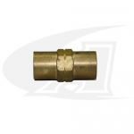 "Water/Industrial Air Coupler ""B\"" 5/8\""x18 LH Female-to-Female"