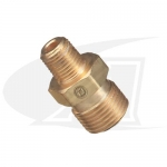 "Acetylene/Fuel Gas Coupler - ""A\"" Size Male to \""B\"" Size Male"