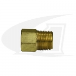 "Bushing, 3/8"" NPT Male-to-1/4"" NPT Female"