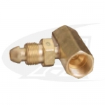 "Click to see larger version of CGA-510 ""T\"" Splitter - POL Acetylene"