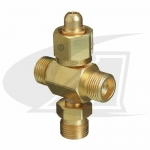 CGA-540 4-Way Coupler - Oxygen