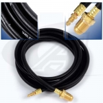 12.5' (3.8m) Rubber Power Cable, 350 Amp