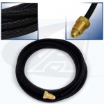12.5' (3.8m) Rubber Water Hose
