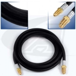 12.5' (3.8m) 1-Piece Rubber Cable, 200 Amp