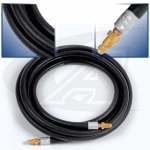 25' (7.6m) 1-Piece Rubber Cable, 150 Amp