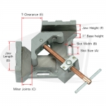 2-Axis Welders Angle Clamp