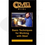 Click to see larger version of Basic Techniques for Working with Steel DVD with Ron Covell