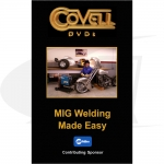 Click to see larger version of MIG Welding made Easy DVD with Ron Covell