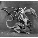 Dragon: DIY Metal Sculpture Kit