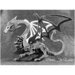 Dragon: DIY Metal Sculpture Kit by Barbie The Welder