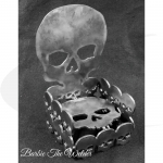Skull Throne: DIY Metal Sculpture Kit by Barbie The Welder