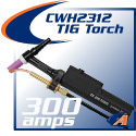 300 Amp Water-Cooled Torch & Accessories