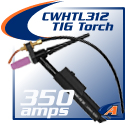 350 Amp Water-Cooled Torch & Accessories