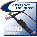 400 Amp Water-Cooled Torch & Accessories