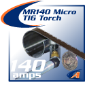 140 Amp MR140 Micro TIG Torch Packages