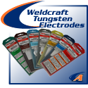 Weldcraft® Tungsten Electrodes, Popular Blends & Sizes