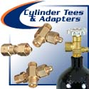 CGA Cylinder Adapters & Tee Fittings
