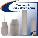High-Temp Ceramic TIG Nozzles & Cups