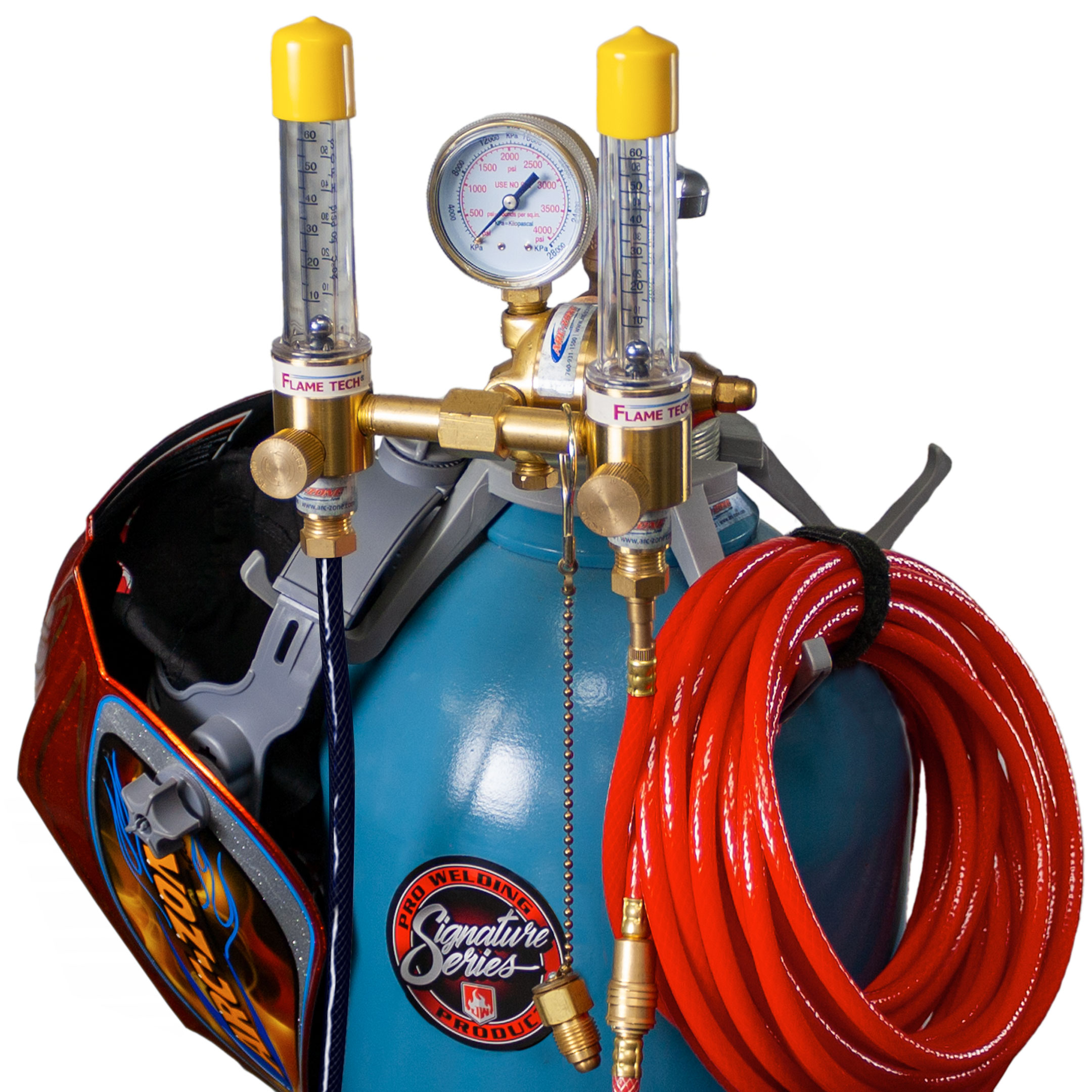 Dual Flow Meters & Gas Mixing Kits
