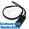 Universal Switches, On-Off & Momentary - No Cord or Plug