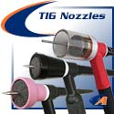 TIG Gas Nozzles, Cups, Trailing & Auxiliary Shields