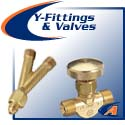 Valves & Y Fittings