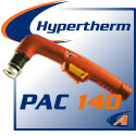 Hypertherm® PAC 140 Cutting Torches & Replacement Parts