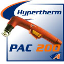 Hypertherm® PAC 200 Cutting Torches & Replacement Parts