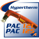 Hypertherm® PAC 121/PAC 125 Cutting Torches & Replacement Parts
