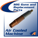 Air-Cooled Machine MIG Guns & Parts