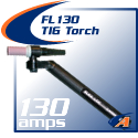 130 Amp FL-130 FlexLoc TIG Torch