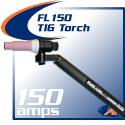 150 Amp Flex-Loc TIG Torch