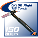 150 Amp CK150 Rigid TIG Torch Packages
