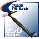 250 Amp CK200 TIG Torch Packages