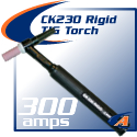 300 Amp CK230 TIG Torch Packages