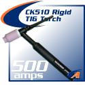 500 Amp CK510 TIG Torch Packages