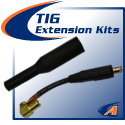 Air/Water-Cooled TIG Extension Kits
