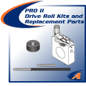 PRO II Drive Roll Kits & Replacement Parts