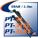 ESAB® /L-Tec® PT-31/PT-31XL/PT-31XL Torches & Replacement Parts