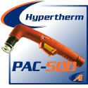 Hypertherm® PAC 500 Cutting Torches & Replacement Parts