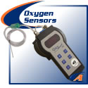 Oxygen monitors for pipe welding