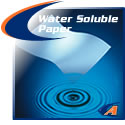 Water Soluble Purge Paper In Sheets & Rolls
