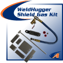 WeldHugger Shield Gas Kits For Trail & Back-Side Purging