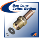 Gas Lens Collet Bodies